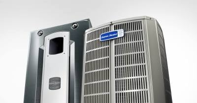American Standard Gas Furnace & Air Conditioner